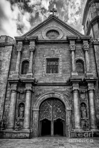 Photograph - San Agustin Church  by Adrian Evans