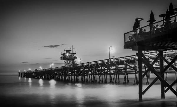 Clemente Photograph - San Clemente Pier At Sunset by Pixabay