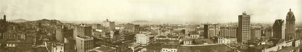 1900 Photograph - San Francisco Panorama by Underwood Archives