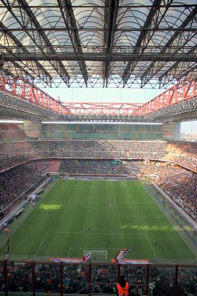 Italian Football Wall Art - Photograph - San Siro Stadium by Valentino Visentini