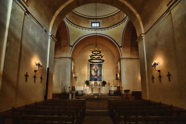 Spanish Missions Wall Art - Photograph - Sanctuary - Mission Concepcion by Stephen Stookey