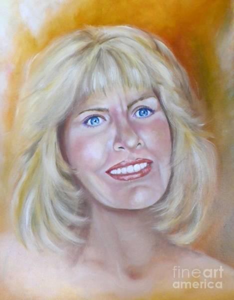 Wall Art - Painting - Sandra Self Portrait by Sandra Valentini