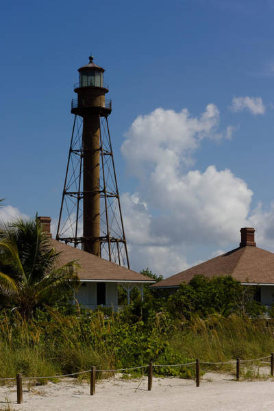 Photograph - Sanibel Lighthouse by Ed Gleichman