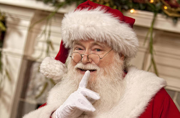 Photograph - Santa Claus by Doc Braham