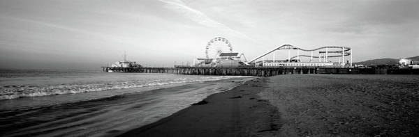 Santa Monica Pier Photograph - Santa Monica Pier, California, Usa by Panoramic Images