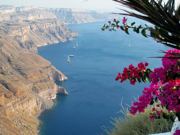 Photograph - Santorini Beautiful View by Alexandros Daskalakis