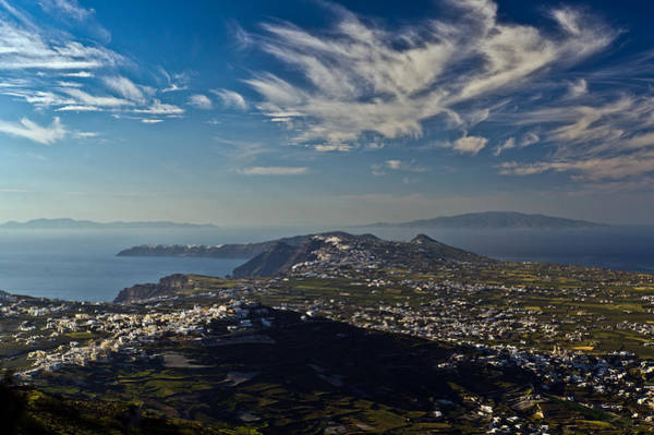 Photograph - Santorini View by Gary Eason