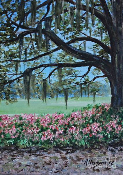Painting - Savannah Spring by Stanton Allaben
