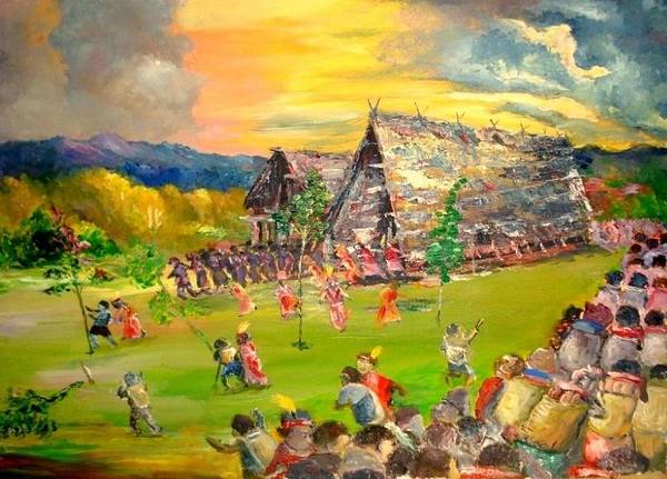 Initiation Painting - Sbiah Baah by Jason Sentuf