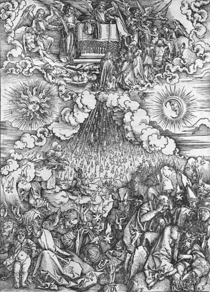Justice Painting - Scene From The Apocalypse by Albrecht Durer or Duerer