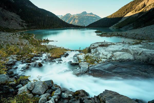 Pemberton Photograph - Scenery Of Joffre Lake, Duffy Lake by Ben Girardi