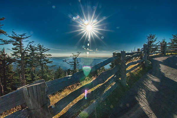 Photograph - Scenics Around Blue Ridge Parkway North Carolina by Alex Grichenko