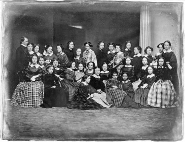 Photograph - School For Girls, C1850 by Granger