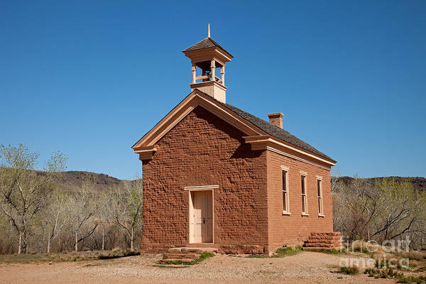 Photograph - School House And Community Center by Fred Stearns