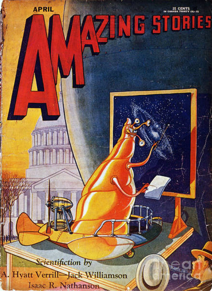 Painting - Science Fiction Cover 1930 by Granger