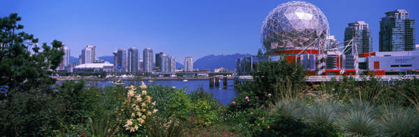 False Creek Wall Art - Photograph - Science Museum At The Waterfront by Panoramic Images