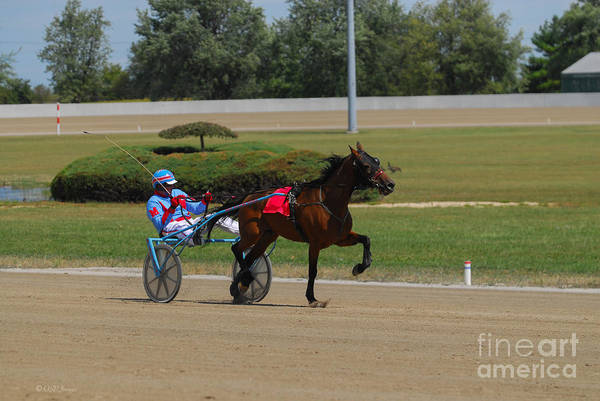 Photograph - D39w-399 Scioto Downs by Ohio Stock Photography
