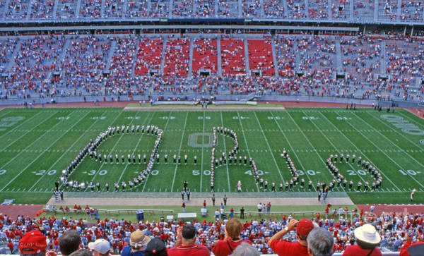 27w115 Script Ohio In Osu Stadium Art Print