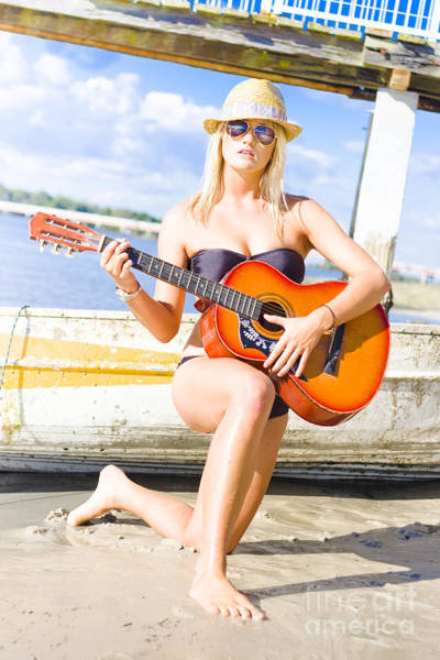 Musical Artists Photograph - Sea Shore Serenade by Jorgo Photography - Wall Art Gallery
