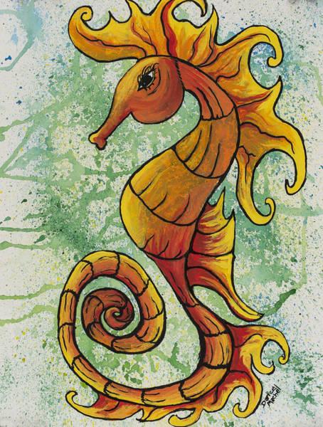 Painting - Seahorse  by Darice Machel McGuire