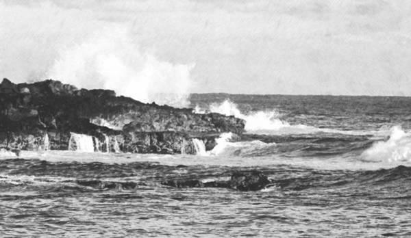 Photograph - Seascape by Frank Wilson