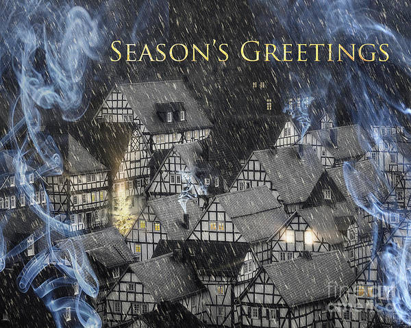 Photograph - Season's Greetings by Edmund Nagele