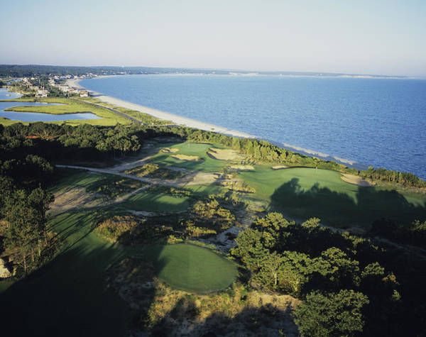 Golf Club Photograph - Sebonack National Golf Club by Stephen Szurlej