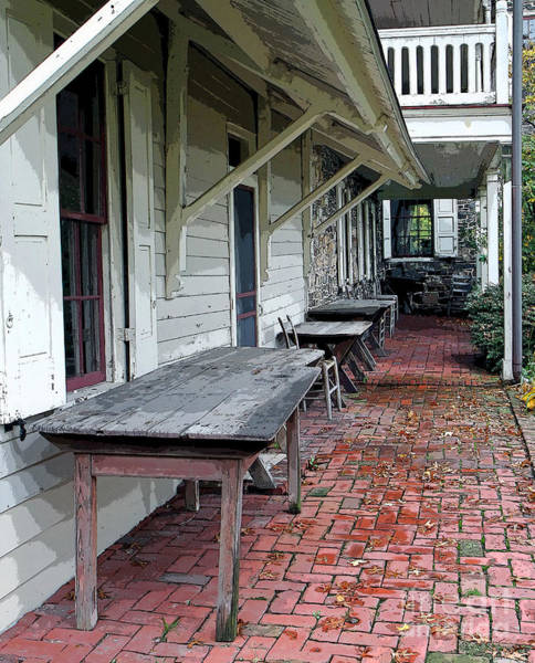 Photograph - Secluded Portico by Geoff Crego