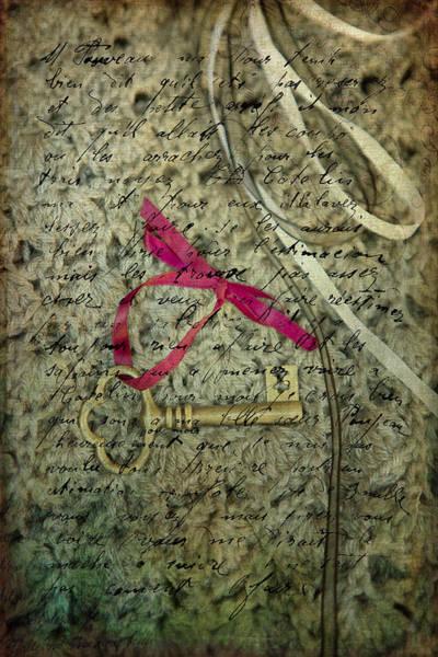Handwriting Photograph - Secrets by Rebecca Cozart