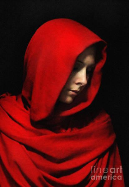 Cloak Digital Art - Seeking Sanctuary by Gee Lyon