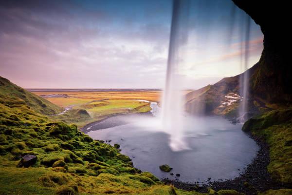 Photograph - Seljalandsfoss Waterfall by Ed Norton