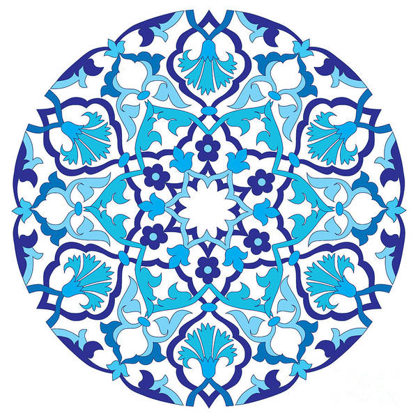 Symmetrical Digital Art - Series Of Patterns Designed By Taking by Antsvgdal