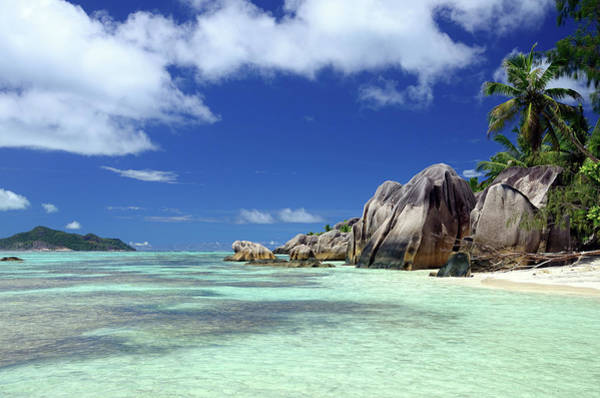 Object Photograph - Seychelles Seascape by Alxpin