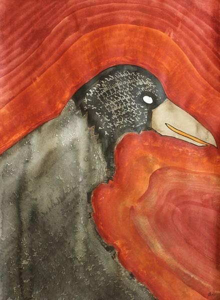 Birdman Painting - Shaman Original Painting by Sol Luckman