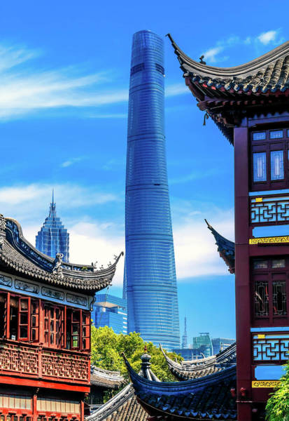 Wall Art - Photograph - Shanghai Tower, Second Tallest Building by William Perry