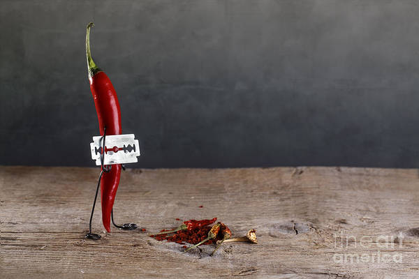 Bizarre Wall Art - Photograph - Sharp Chili by Nailia Schwarz