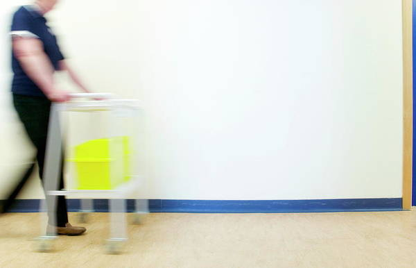 Rubbish Bin Photograph - Sharps Bin by Gustoimages/science Photo Library