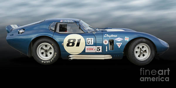 Autosport Wall Art - Photograph - Shelby Daytona Coupe by Tad Gage