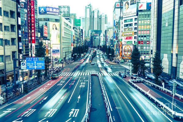Photograph - Shinjuku Rush by Didier Marti