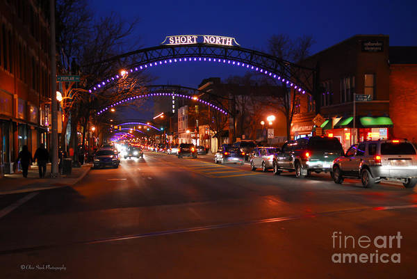 D8l353 Short North Arts District In Columbus Ohio Photo Art Print