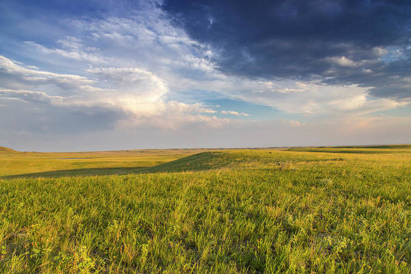 Bitter Photograph - Shortgrass Prairie At The Bitter Creek by Chuck Haney