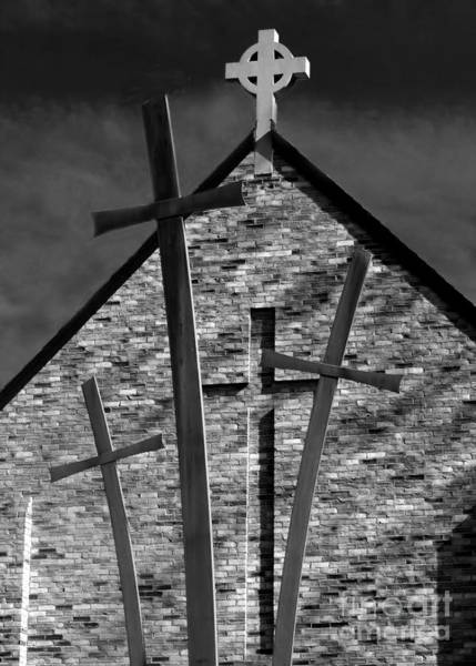 Photograph - Sign Of The Cross by Geoff Crego
