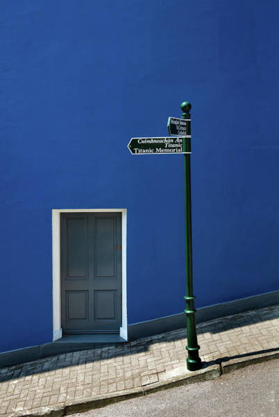 County Cork Wall Art - Photograph - Signpost To The Titanic Memorial, Cobh by Panoramic Images