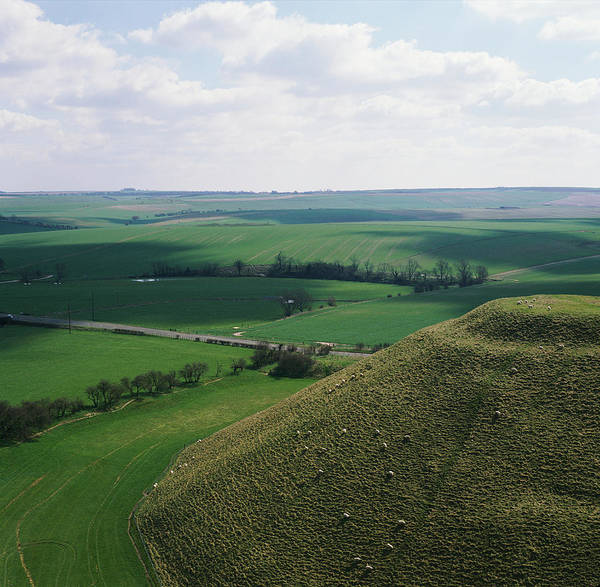 Wall Art - Photograph - Silbury Hill by Skyscan/science Photo Library