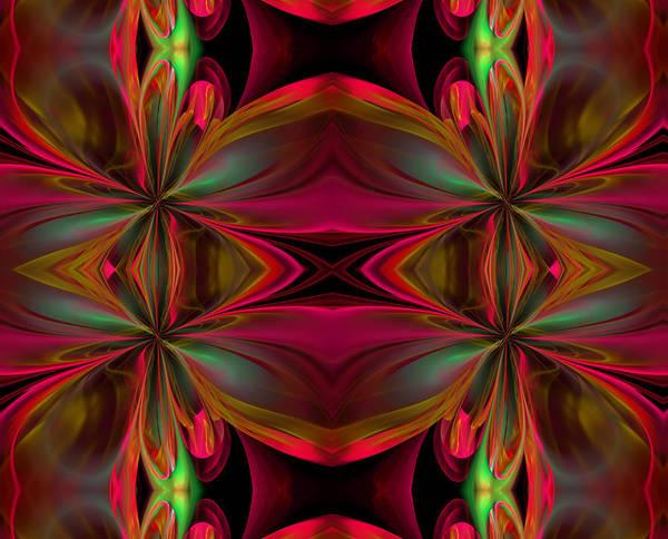 Algorithm Digital Art - Silken Gift by Georgiana Romanovna