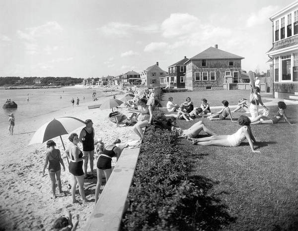 Photograph - Silver Beach On Cape Cod by Underwood Archives