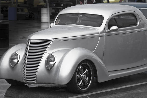 Photograph - Silver Ford by Jack R Perry