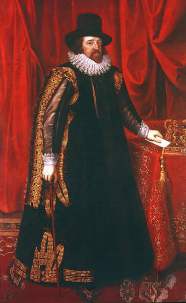 Francis Bacon Wall Art - Painting - Sir Francis Bacon (1561-1626) by Granger