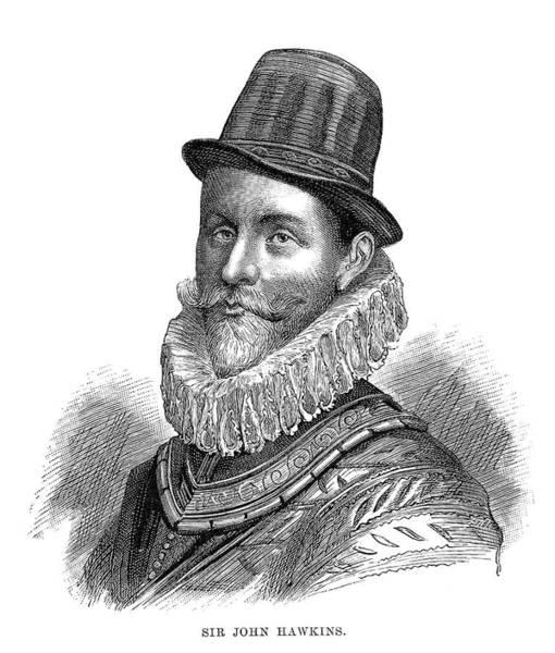 Wall Art - Painting - Sir John Hawkins (1532-1595) by Granger