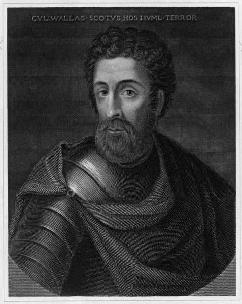 Wall Art - Drawing - Sir William Wallace (1270? - 1305) by Mary Evans Picture Library